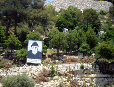 After the Byblos visit, the group went to St. Charbel's Mount.
