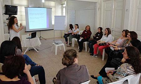 A workshop session